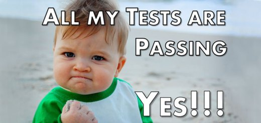 All My Tests Are Passing, Yes!!!
