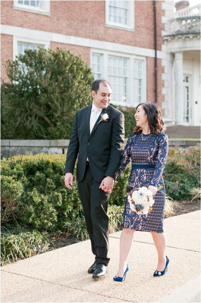 Small intimate wedding at Mansion at Strathmore | Ana Isabel Photography 46