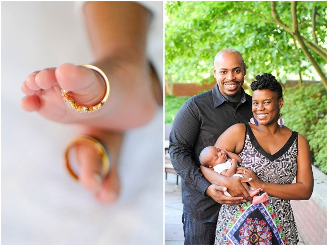 At home family portrait with newborn | Ana Isabel Photography | Washington DC photographer 1