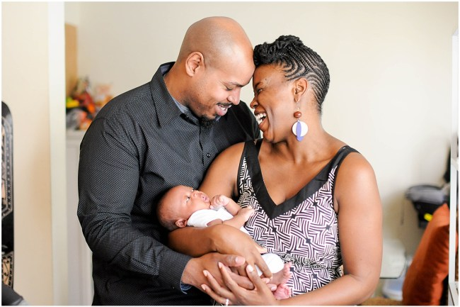 At home family portrait with newborn | Ana Isabel Photography | Washington DC photographer 10