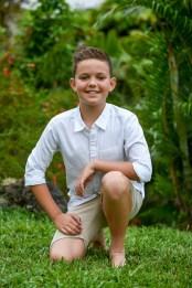 Young boy's professional portrait