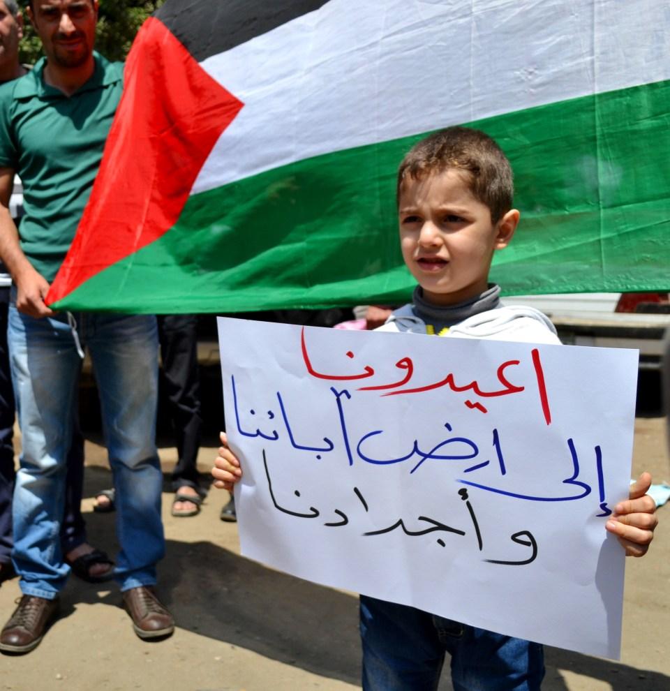 العودة حلم كل فلسطيني