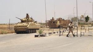 قوات الجيش - معبر رفح - شمال سيناء