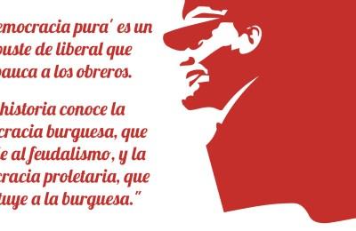 Lenin cita democracia burguesa