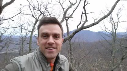 Mountain selfie