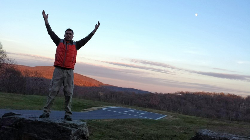 wintergreen-helicopter-pad