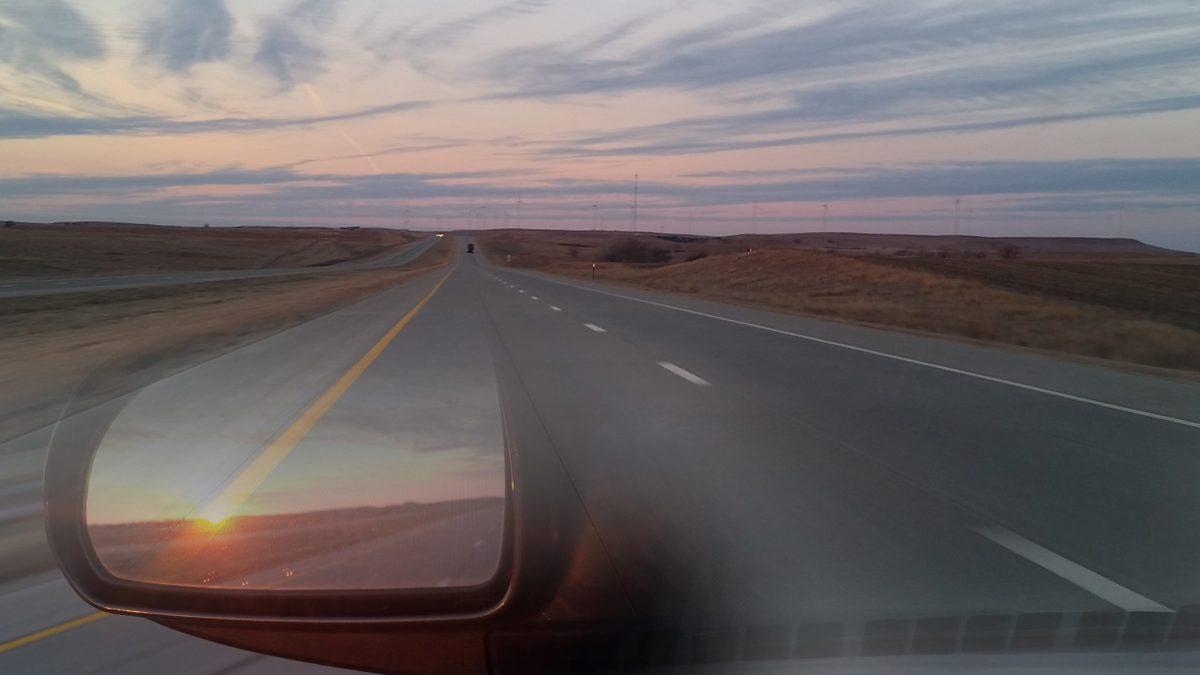 Open road to Kansas