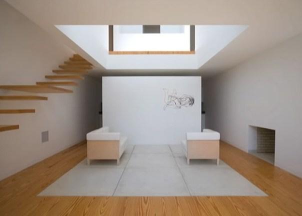 Lvaro siza sus casas for Casa malaparte interni