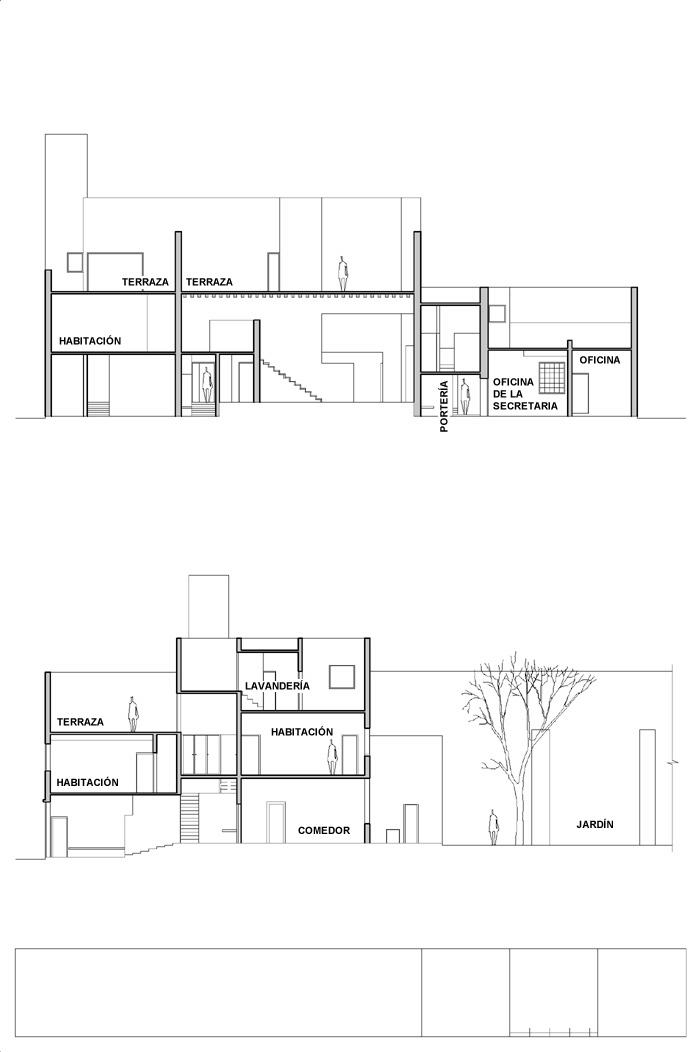 Secciones_Casa-EstudioLuis Barragán