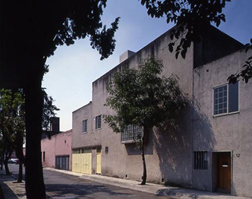 fachada casa estudio luis barragán