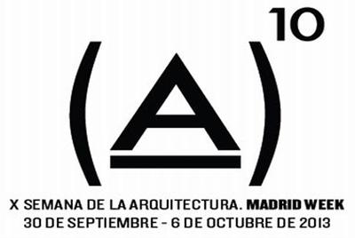 X SEMANA DE LA ARQUITECTURA DE MADRID