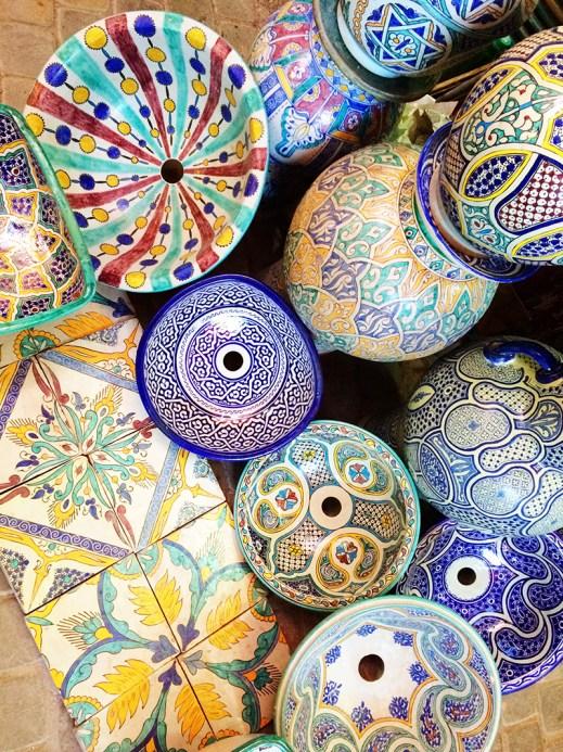 Ananyah- Marrakech Souk- Crockery