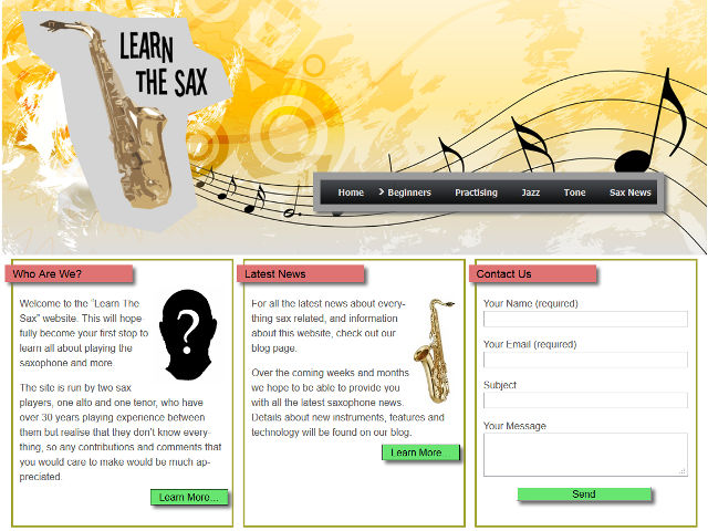 learn the sax
