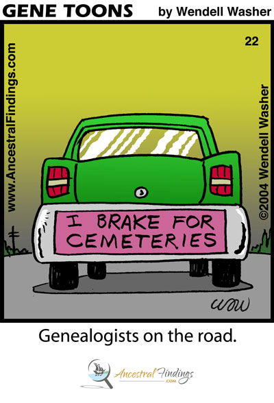 Genealogists On The Road