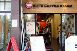 地元に根付き愛されるコーヒースタンド - MITTS COFFEE STAND (ミッツ・コーヒースタンド)