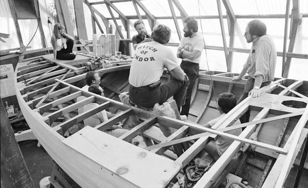 Bull Canyon new boat construction
