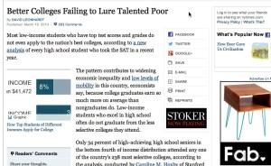 Regular NY Times Article