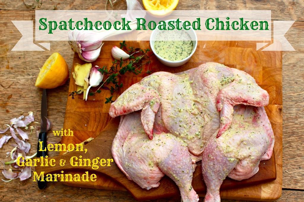 Mustard And Garlic Spatchcocked Chicken Recipes — Dishmaps