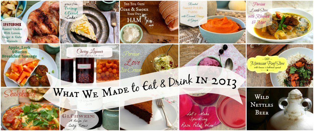 What We Made to Eat & Drink