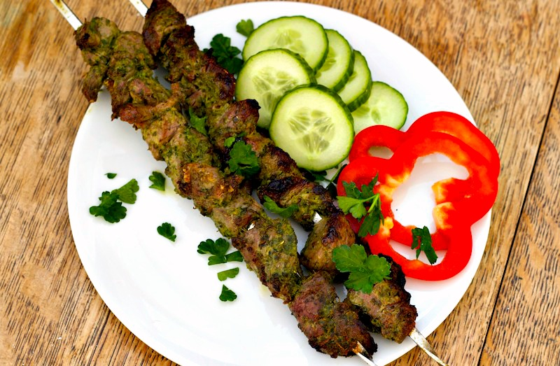 Greek Lamb Kebab