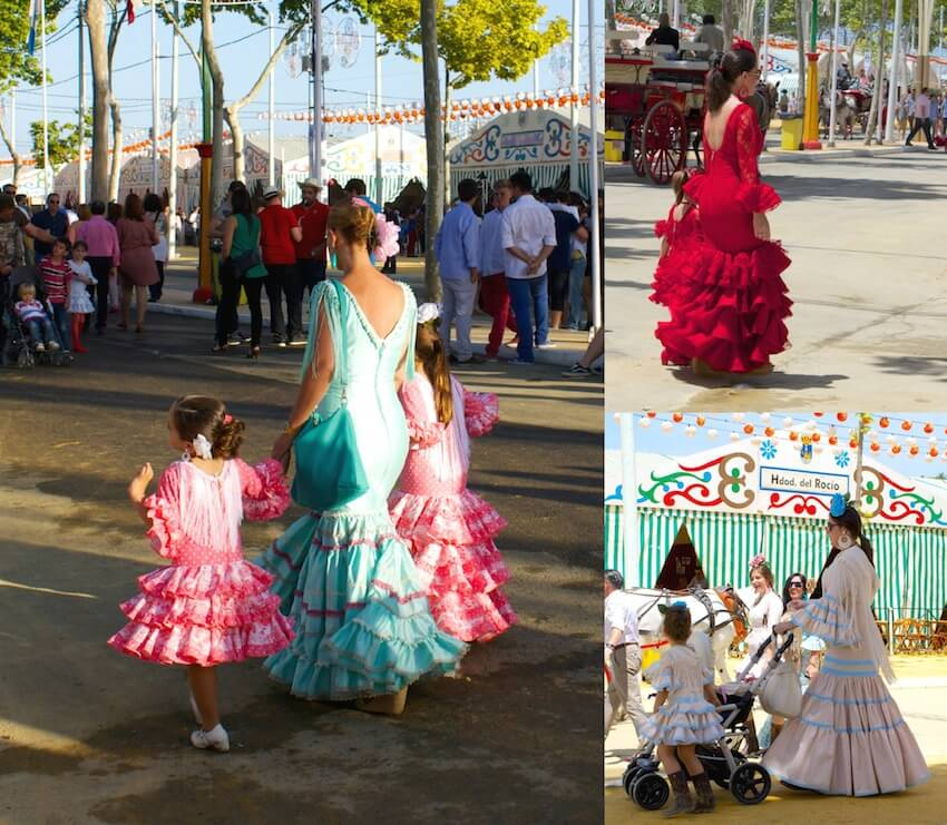 Matching Families at the Feria