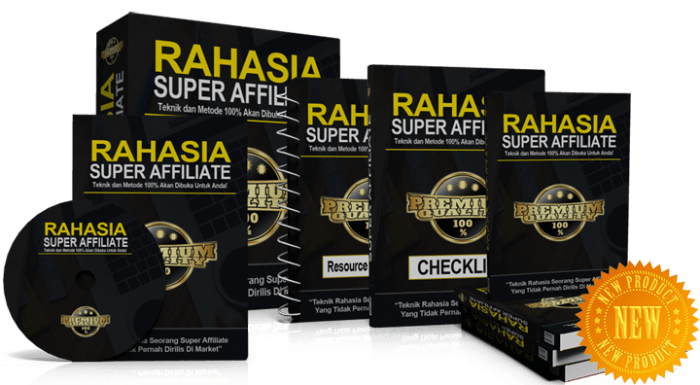 RAHASIA SUPER AFFILIATE