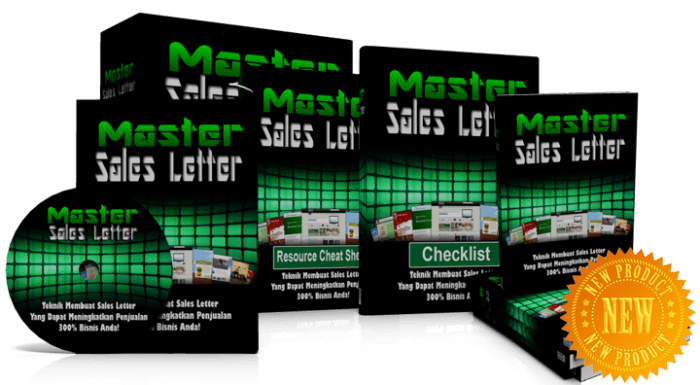 master sales letters