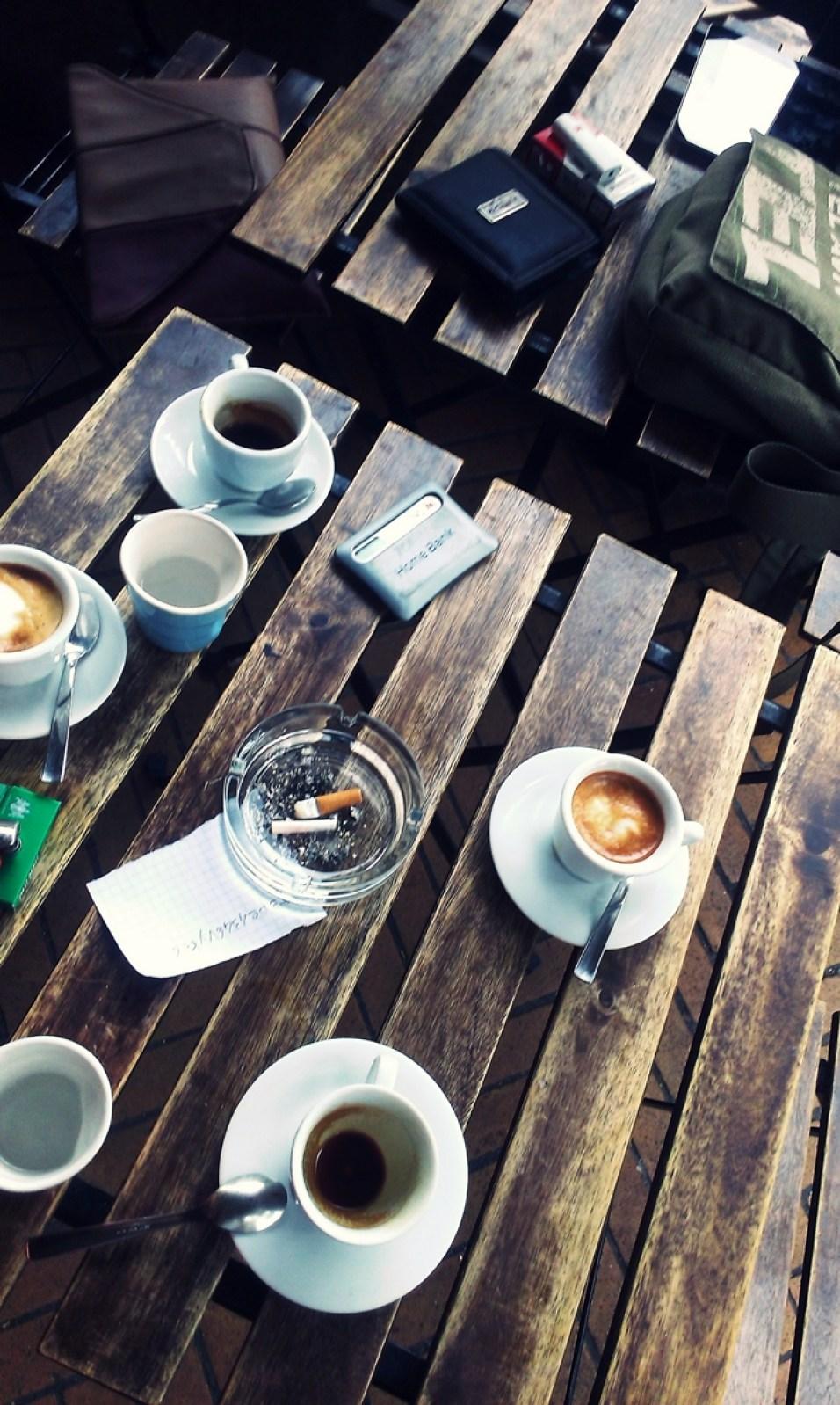 Cafenea, în Udine