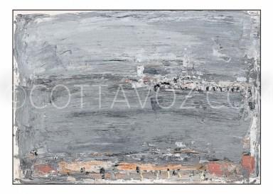 Ostand-vue-de-la-chambre-d'hotel-57x40-acrylique sur papier.