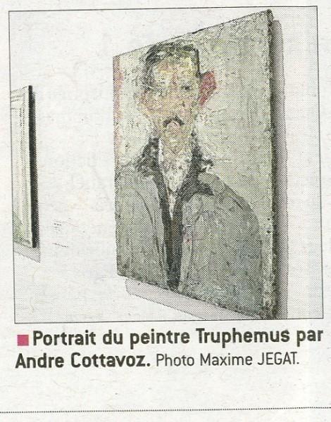 2016- 8 janvier-Cottavoz-Portrait de Jacques Truphemus-Le progres-Lyon-2