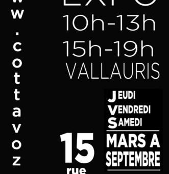 Retour du «Printemps» avec COTTAVOZ à VALLAURIS
