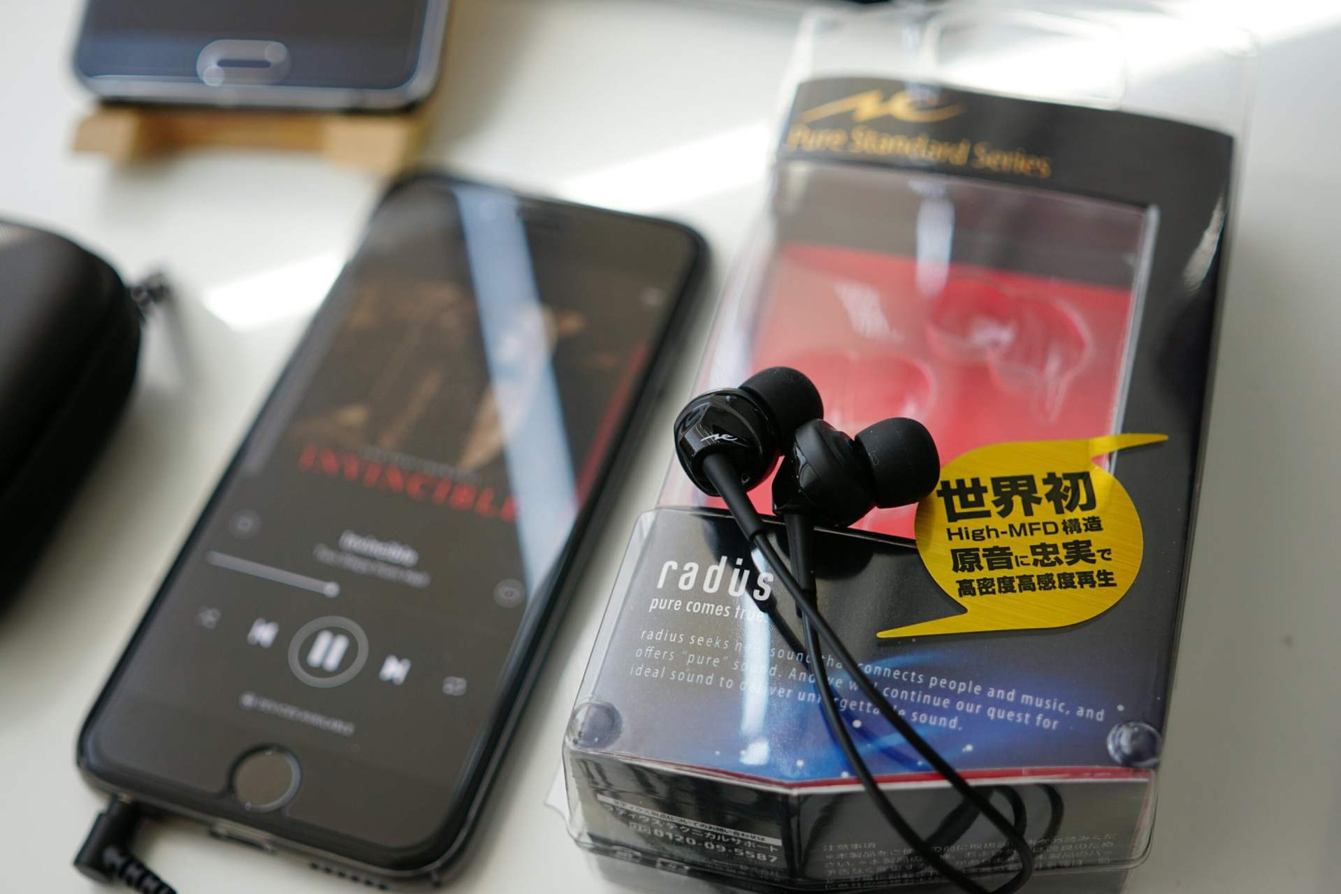 Review Radius HP-NEF31 High-MFD Earphones