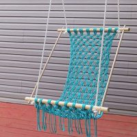 Crocheted Hammock Chair