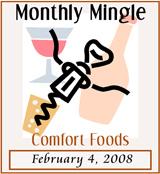 Monthly Mingle, Comfort Foods