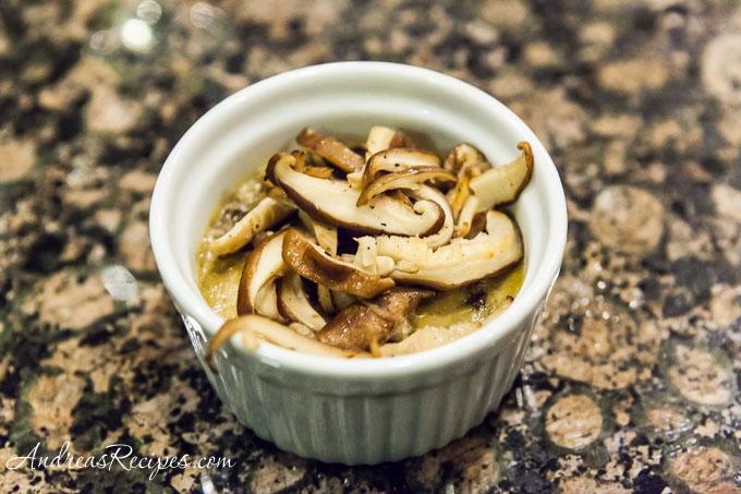 Andrea Meyers - Silky Mushroom Flan