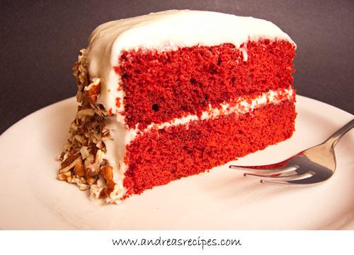 Andrea Meyers - Red Velvet Cake