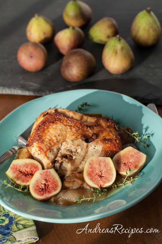 Andrea Meyers - Chicken with Figs and Honey