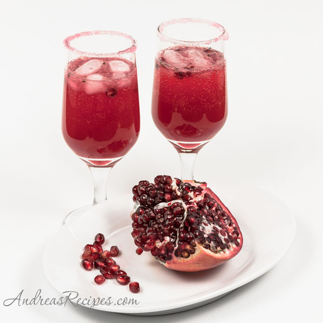 Andrea Meyers - Pomegranate Ginger-Chile Nojito Cocktail