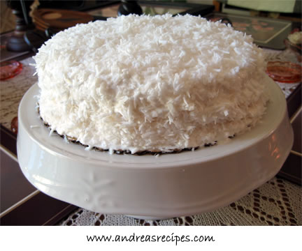 Andrea's Recipes - Grandma's Coconut Cake
