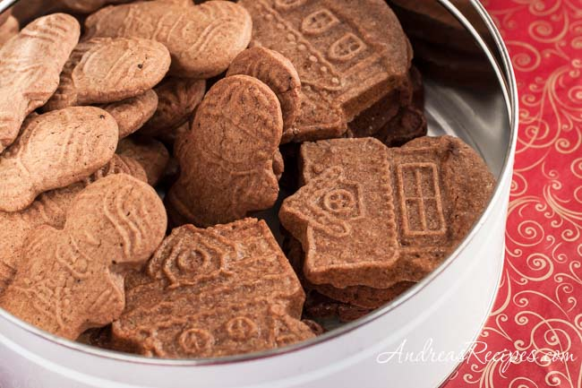 Andrea Meyers - Speculaas (Molded Ginger Cookies)