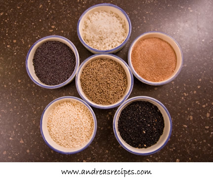 Andrea's Recipes - seeds for lavash