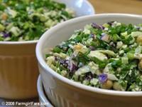 Farmgirl Fare, Swiss Chard Cabbage Salad