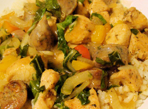 Live Love Laugh Eat - Creole Chicken Fricassee