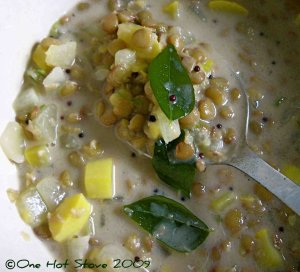 One Hot Stove - Cucumber Squash Curry
