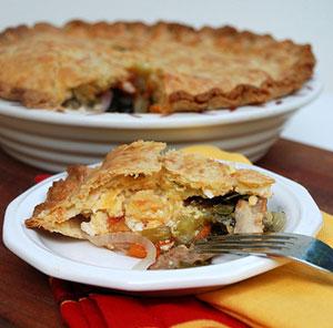 Feeding Maybelle - BLT Pie