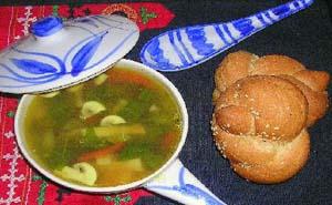 A Homemaker's Diary - Light Veg-n-Lentil Soup