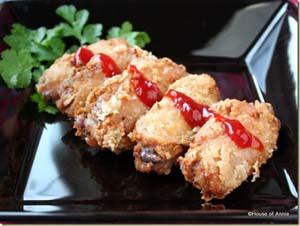 House of Annie - Thai Fried Chicken Wings