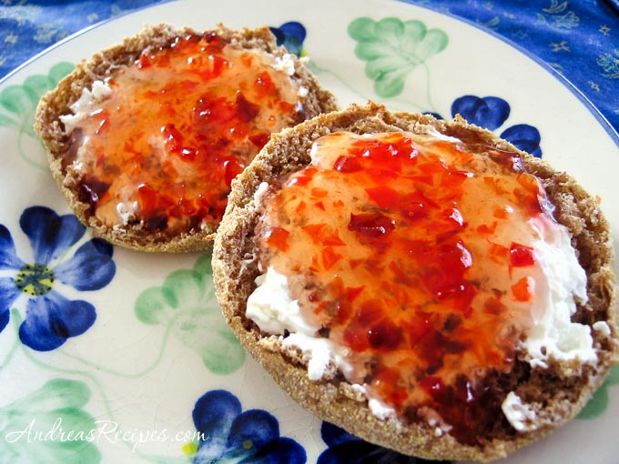 Sweet Red Pepper Jelly - Andrea Meyers