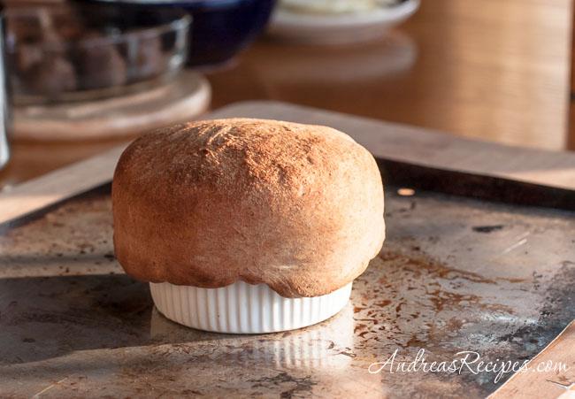 Andrea Meyers - pizza pot pie, baked