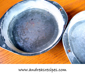 Rusty pans